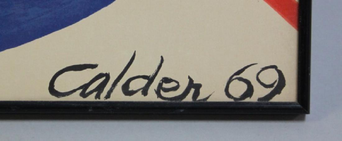 """Alexander Calder (1898-1976) Litho """"Espirales"""" - 3"""