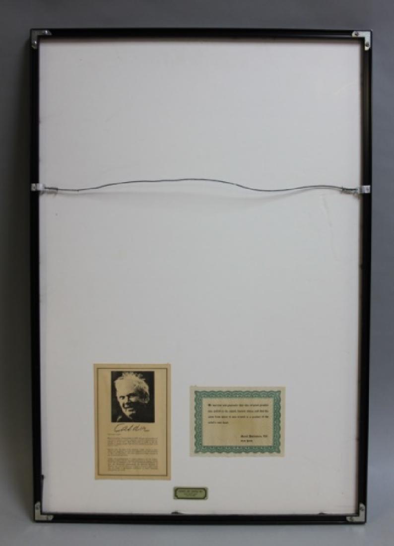 """Alexander Calder (1898-1976) Litho """"Espirales"""" - 4"""