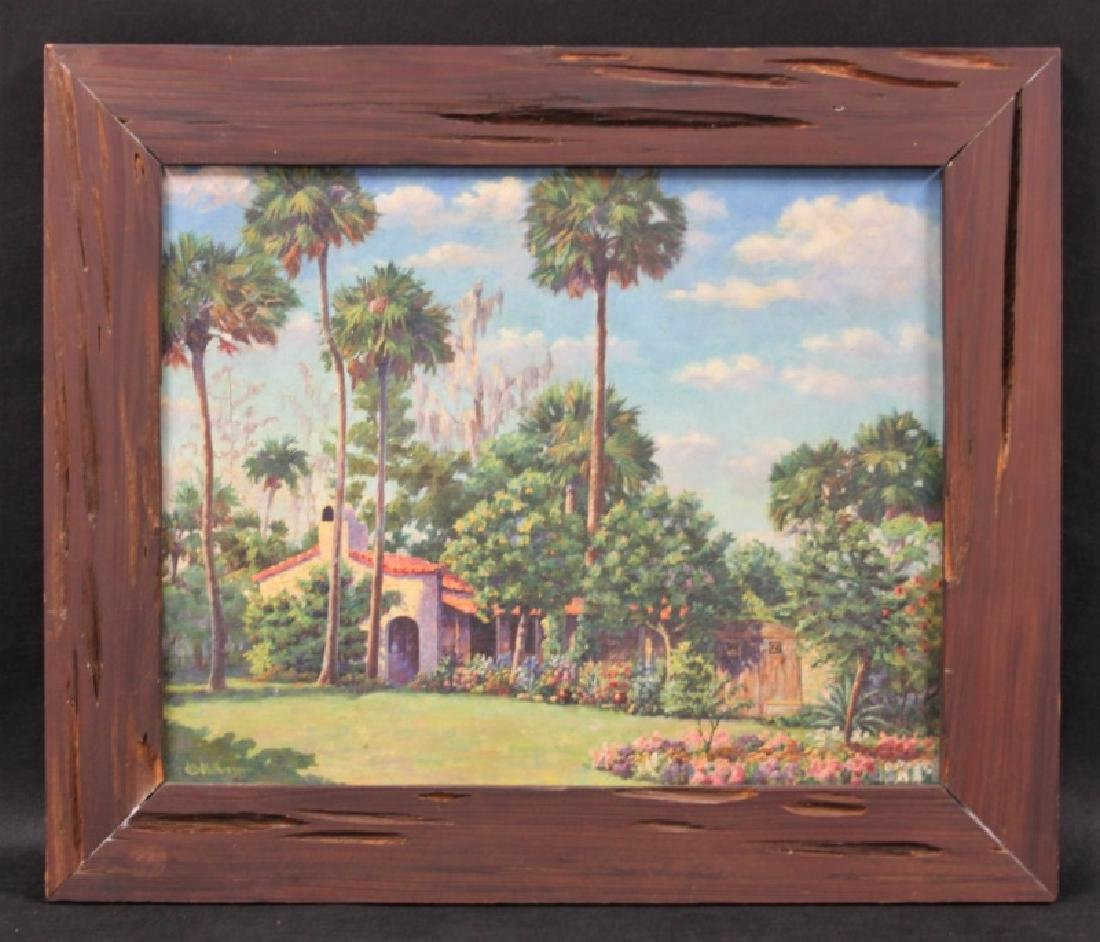 HC Wotherspoon Old Florida Painting Yamasee Jungle - 2