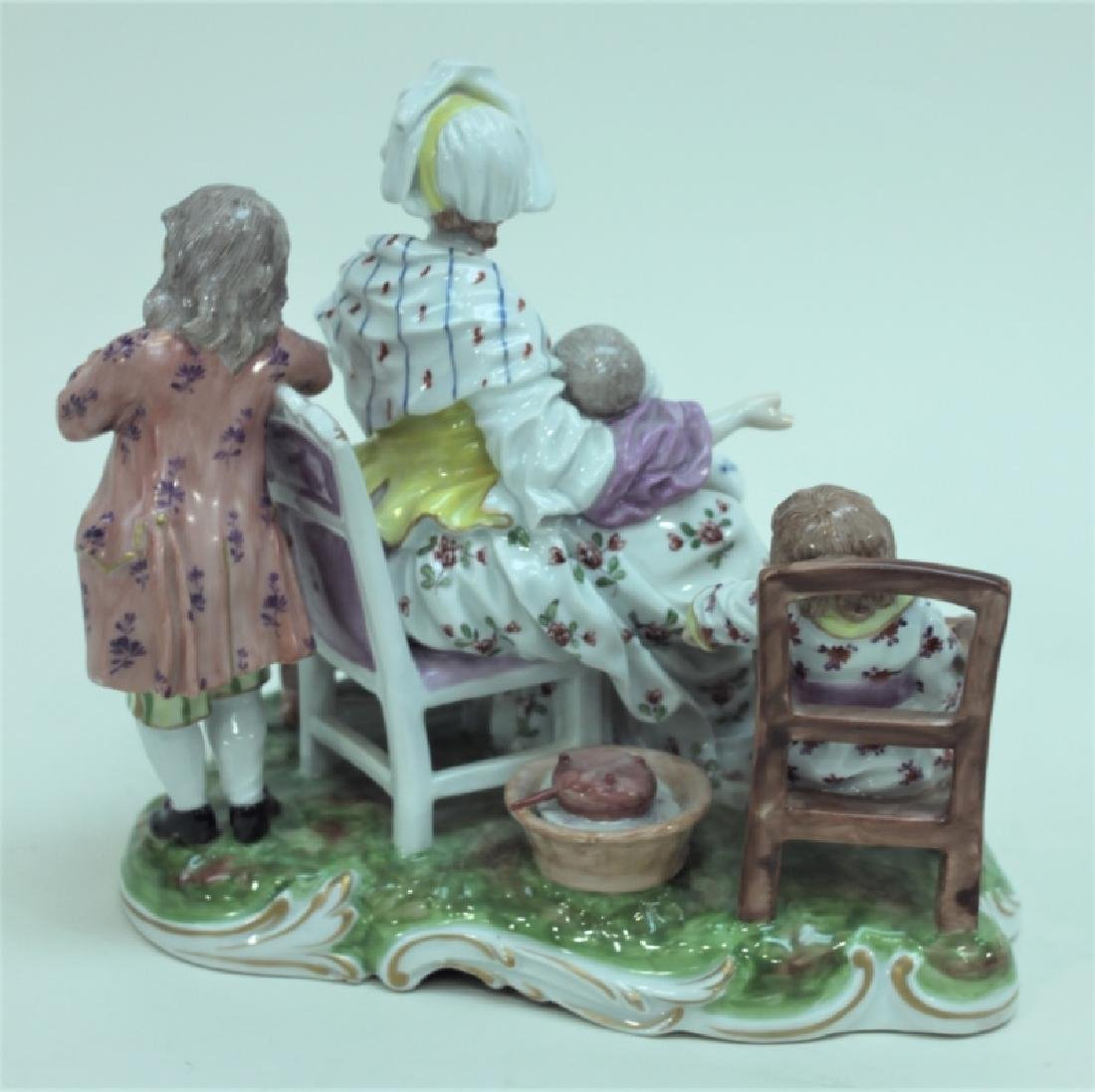 (2) 19C Royal Vienna Porcelain Figural Groups - 7