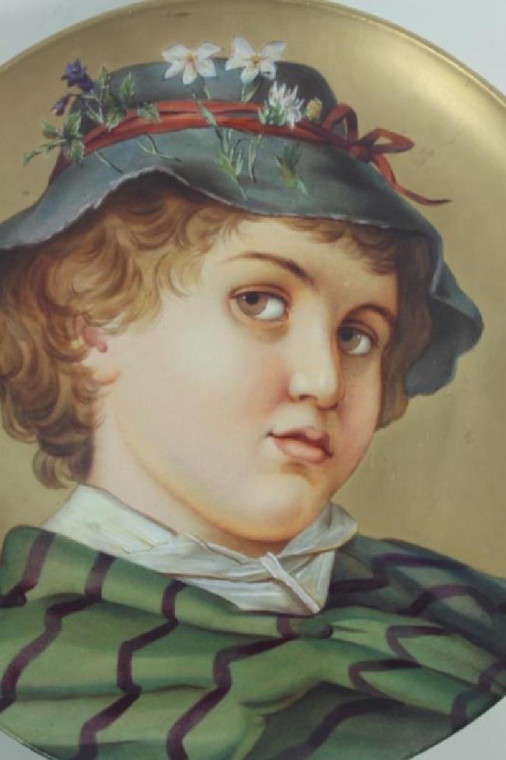 2-19C Arnold & Ludwig Schutz Cilli Portrait Plates - 2