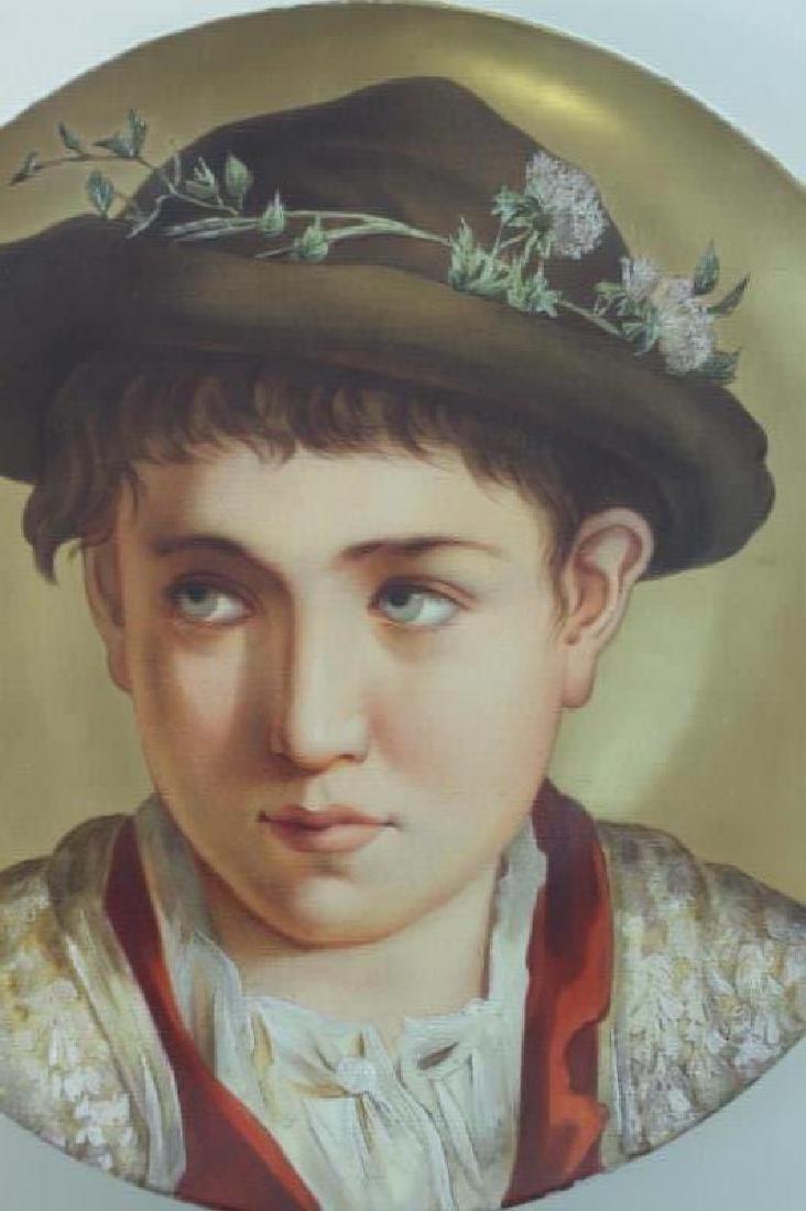 2-19C Arnold & Ludwig Schutz Cilli Portrait Plates - 3
