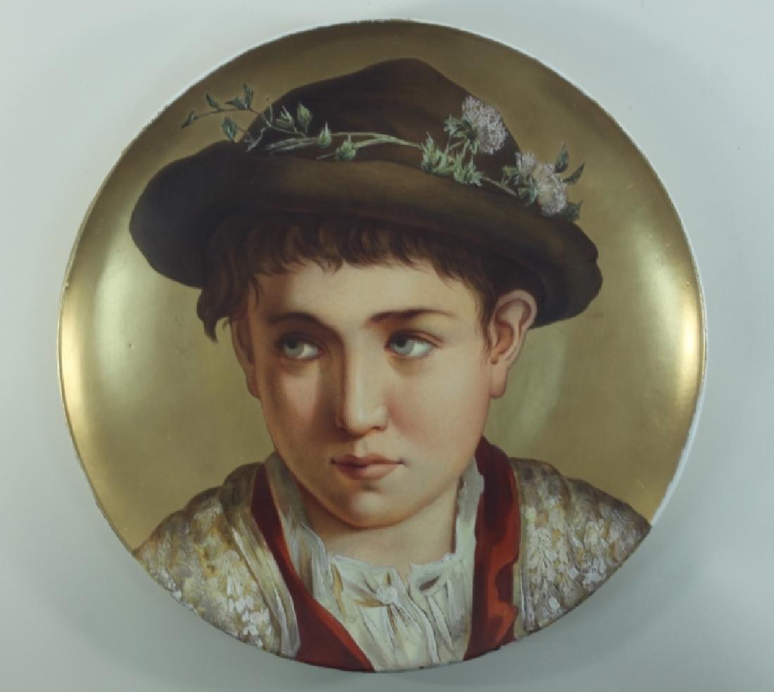 2-19C Arnold & Ludwig Schutz Cilli Portrait Plates - 4