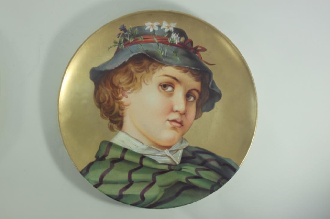 2-19C Arnold & Ludwig Schutz Cilli Portrait Plates - 5