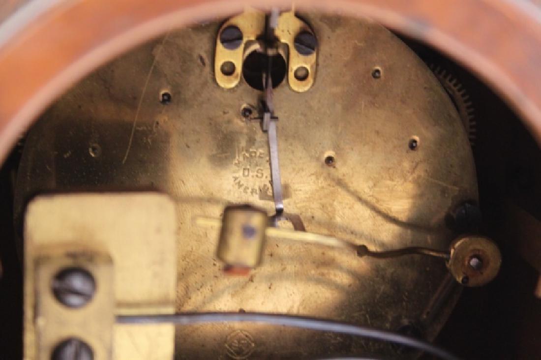 Seth Thomas Bronze WPA Male Figural Clock - 10