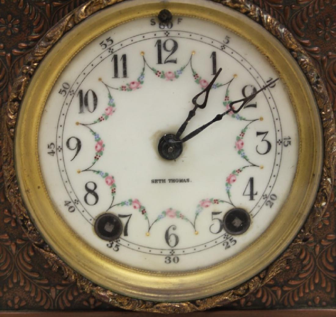 Seth Thomas Bronze WPA Male Figural Clock - 2