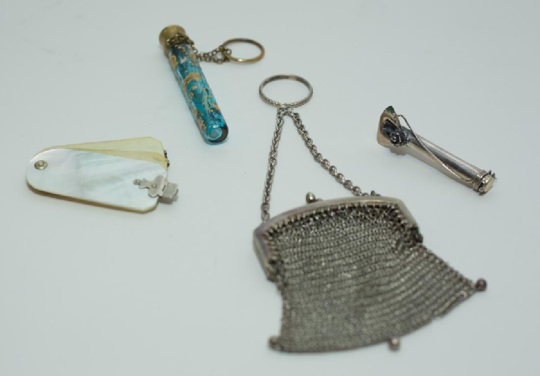 (4) Pieces Antique Victorian Dress Accessories