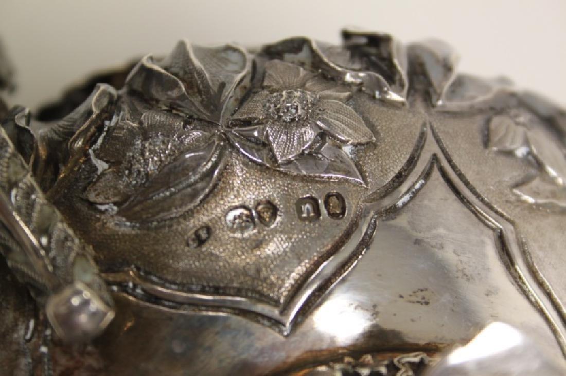 Charles Fox II London 1838 Sterling Creamer & Bowl - 10