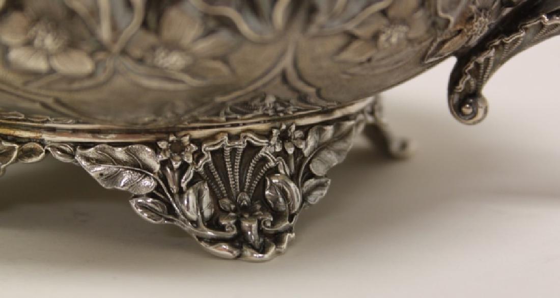 Charles Fox II London 1838 Sterling Creamer & Bowl - 7