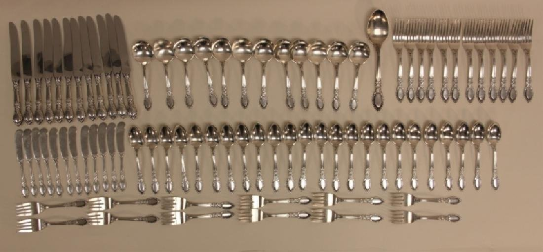 (85)Guildhall 1941 Reed & Barton Sterling Flatware - 2