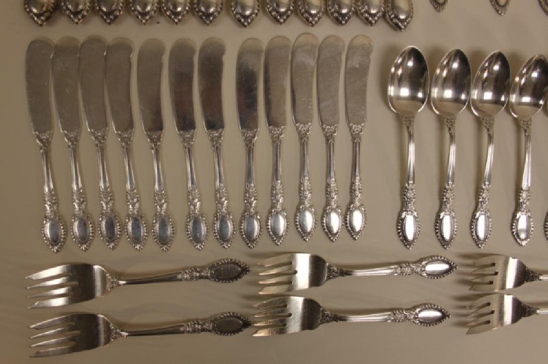 (85)Guildhall 1941 Reed & Barton Sterling Flatware - 4