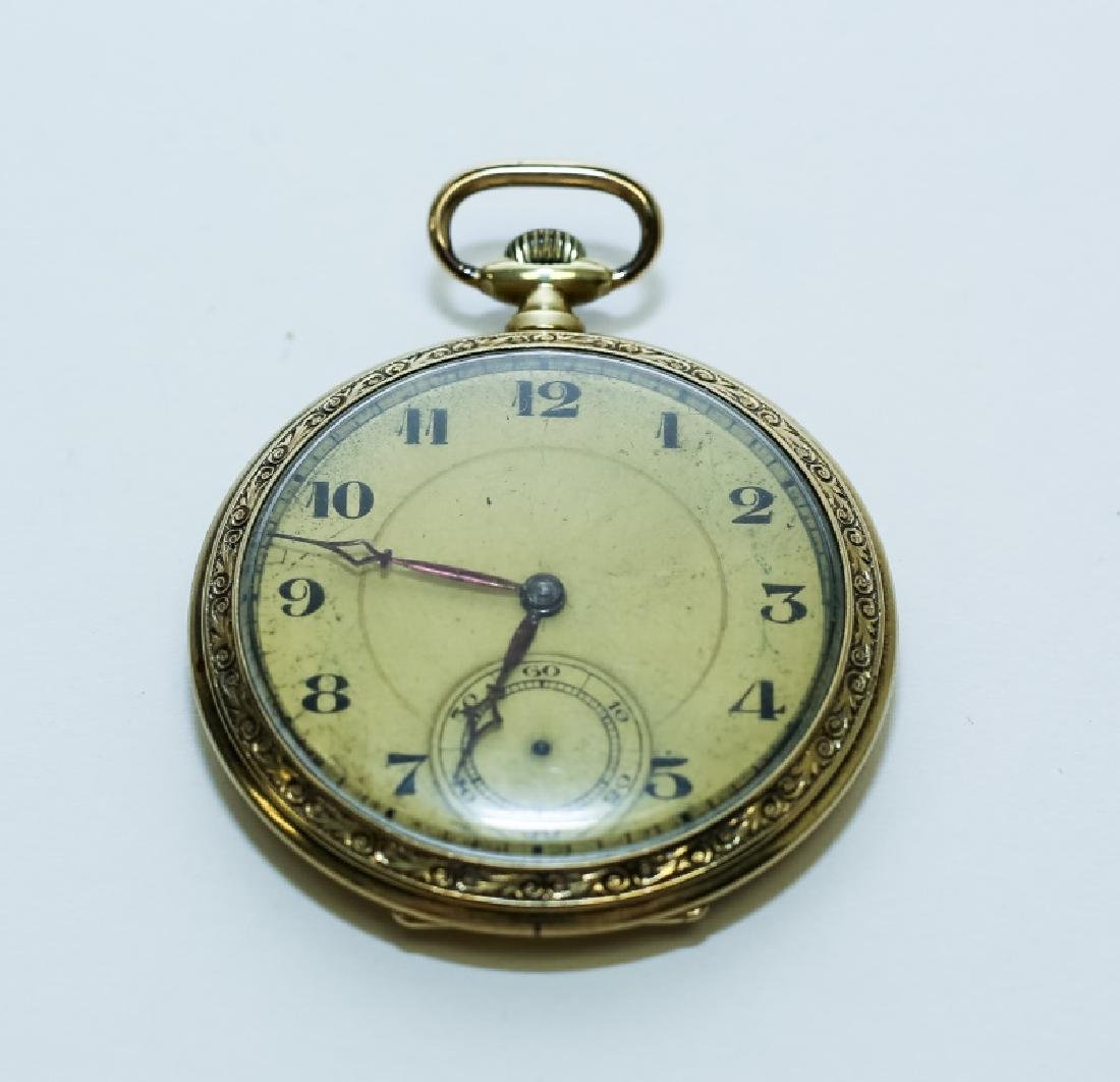 Antique 14k Gold Pocket Watch