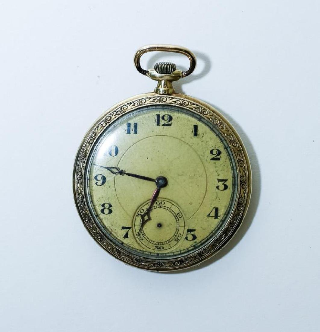 Antique 14k Gold Pocket Watch - 2