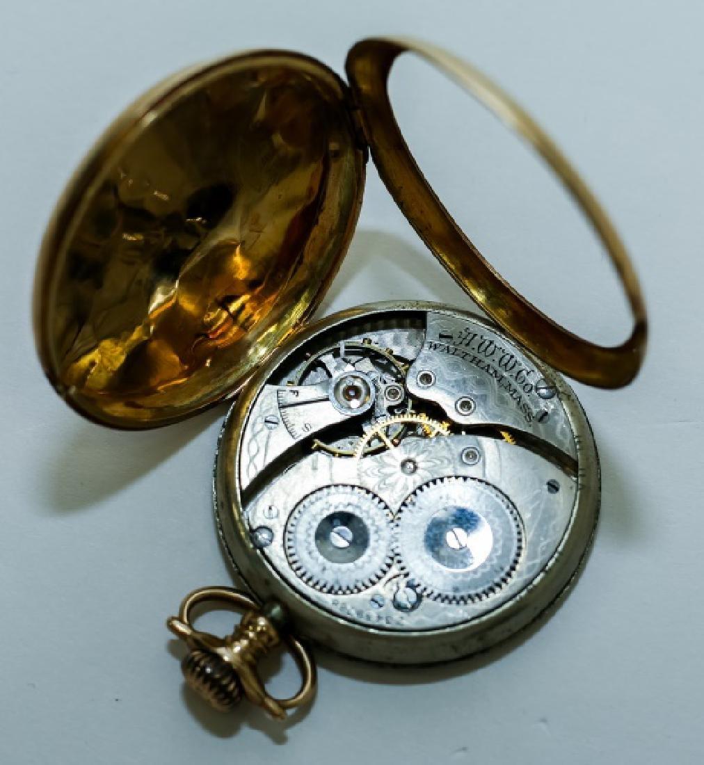 (3) 14K Gold Men's Pocket Watches - 6