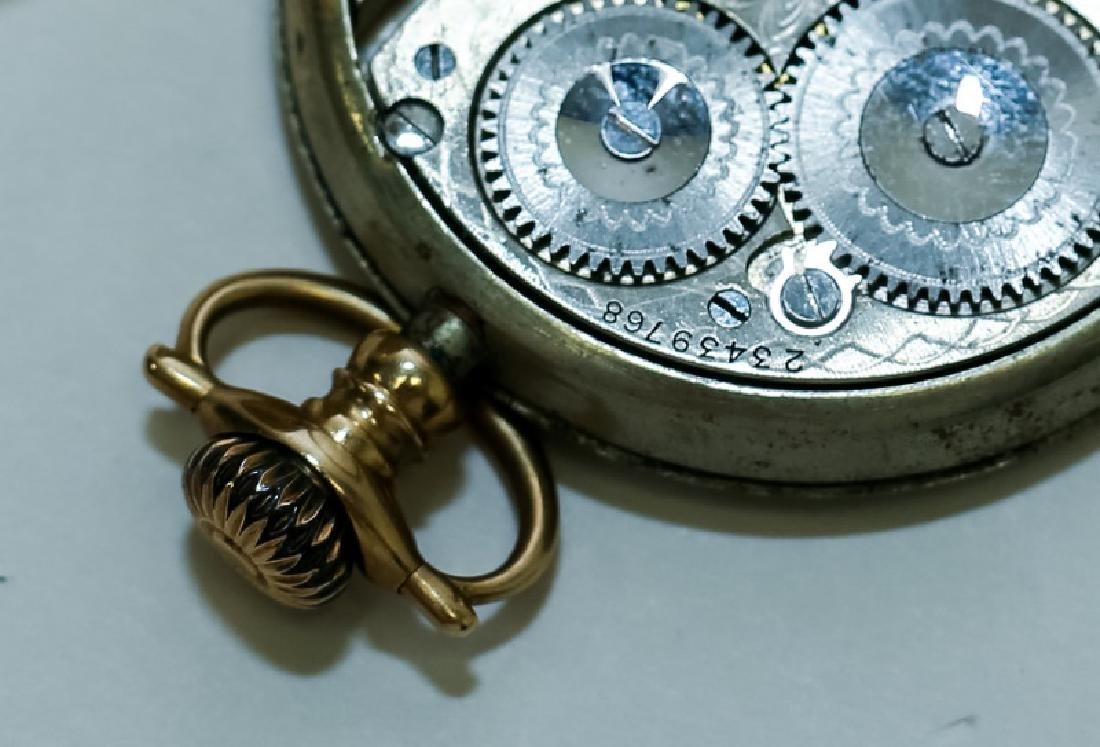 (3) 14K Gold Men's Pocket Watches - 7