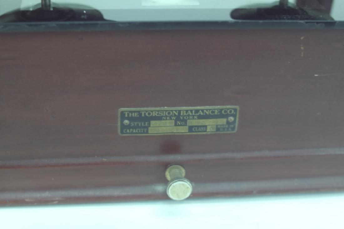 Vintage Torsion Balance Company, NY Pharmacy Scale - 6