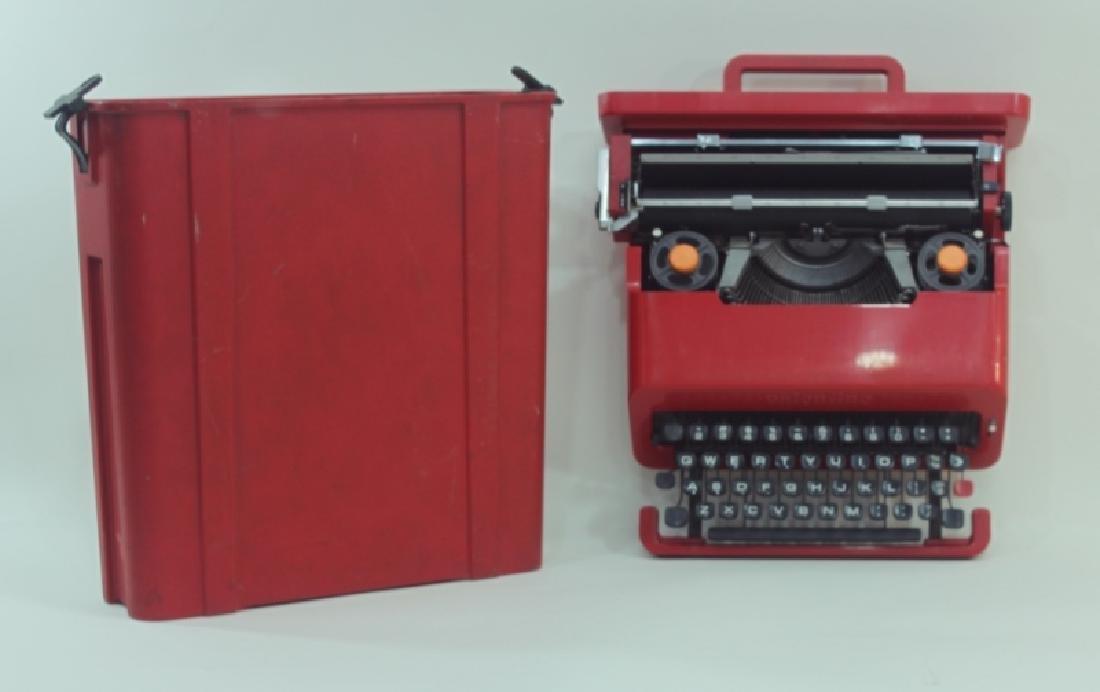 """Olivetti Sottsass """"Valentine"""" Portable Typewriter"""