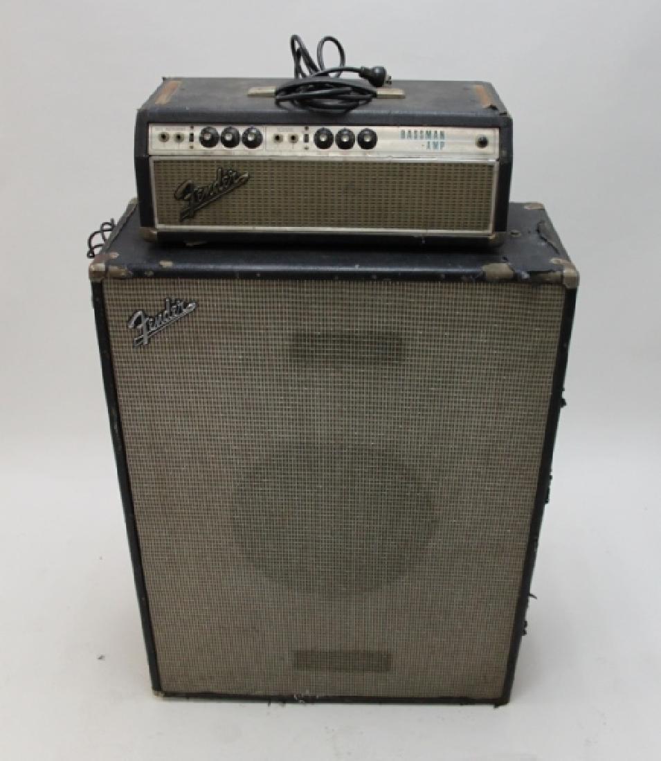 Fender Bass Guitar Bassman 50 Amp Speaker Cabinet