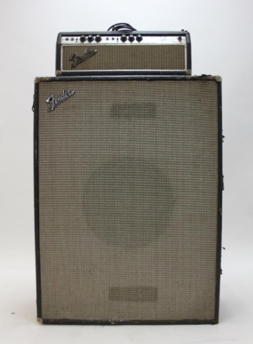 Fender Bass Guitar Bassman 50 Amp Speaker Cabinet - 2
