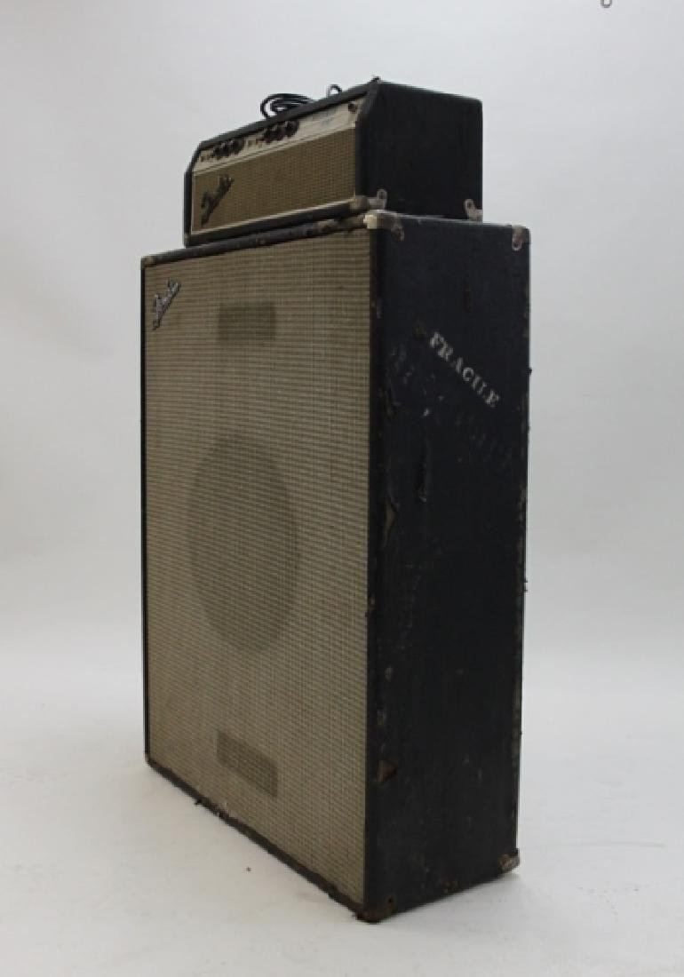 Fender Bass Guitar Bassman 50 Amp Speaker Cabinet - 3