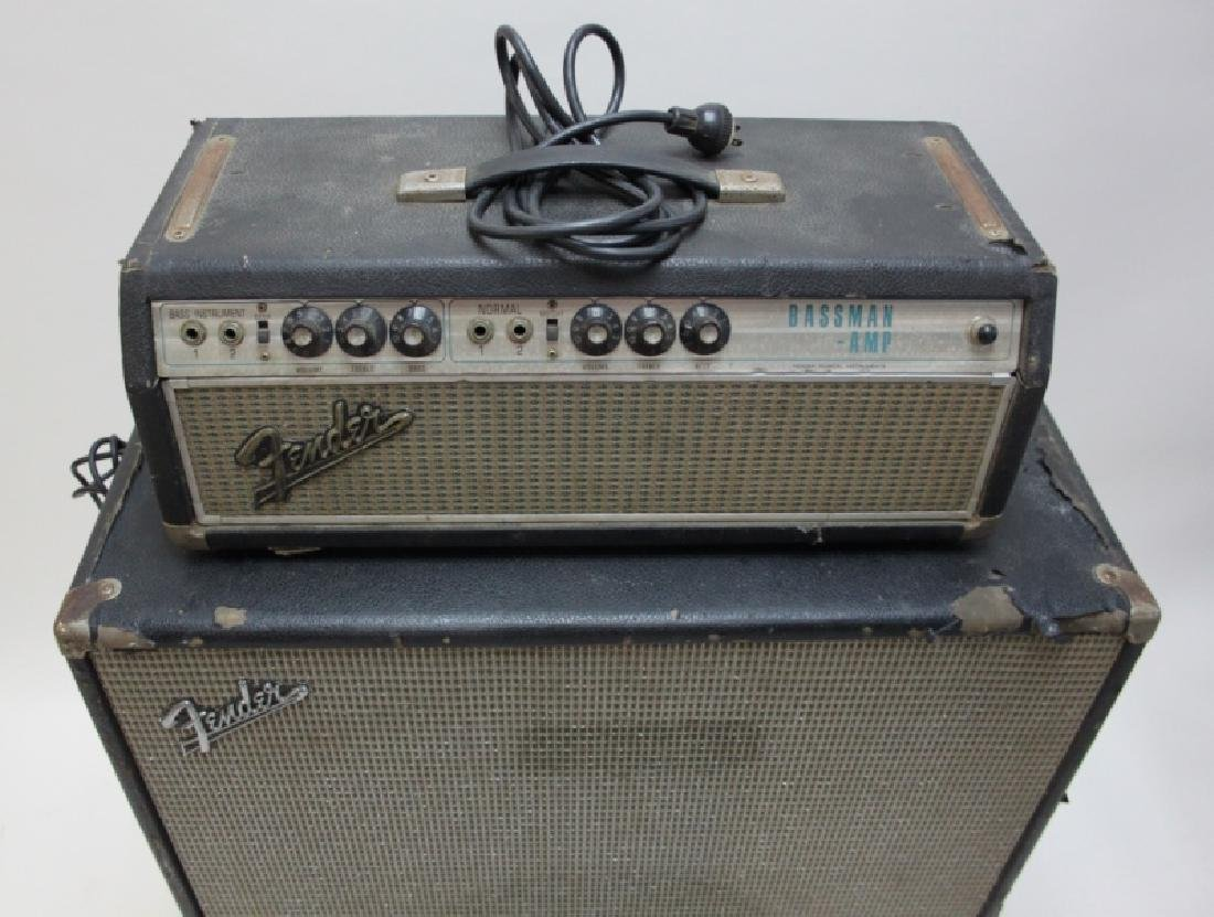 Fender Bass Guitar Bassman 50 Amp Speaker Cabinet - 6