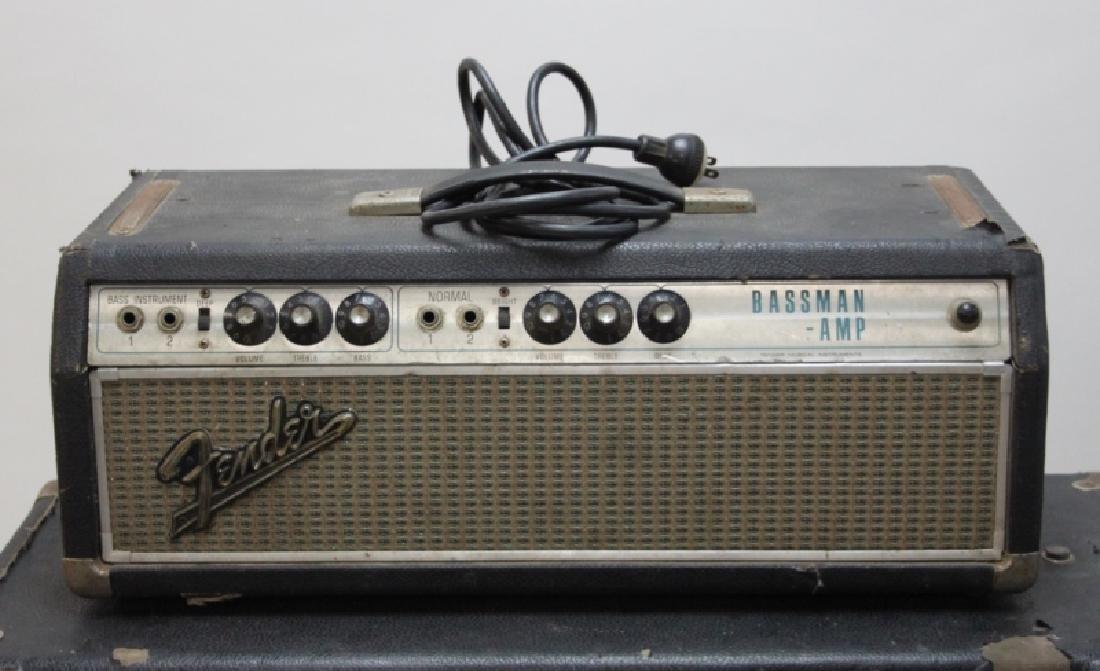 Fender Bass Guitar Bassman 50 Amp Speaker Cabinet - 7