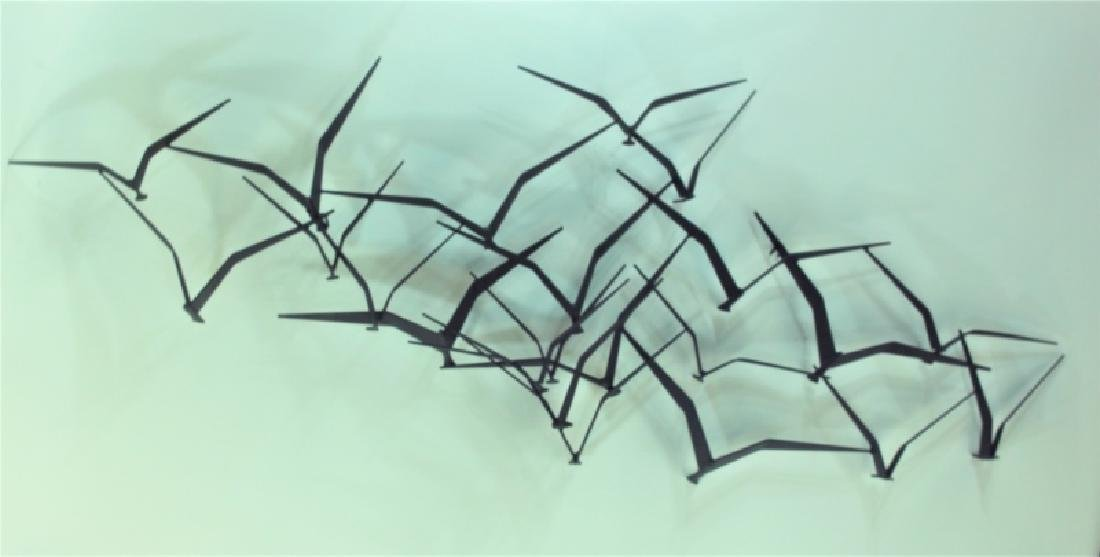 "Curtis Jere ""Birds in Flight"" Metal Wall Sculpture - 2"