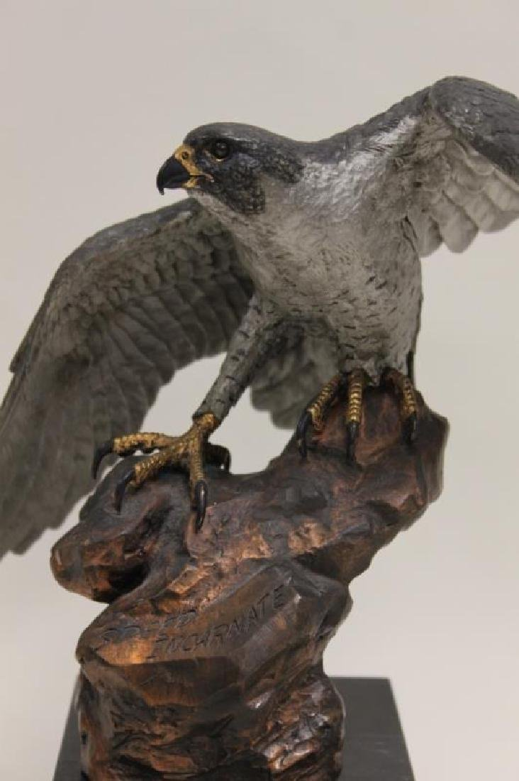 "C.A. Pardell ""Legends"" Peregrine Falcon Sculpture - 2"