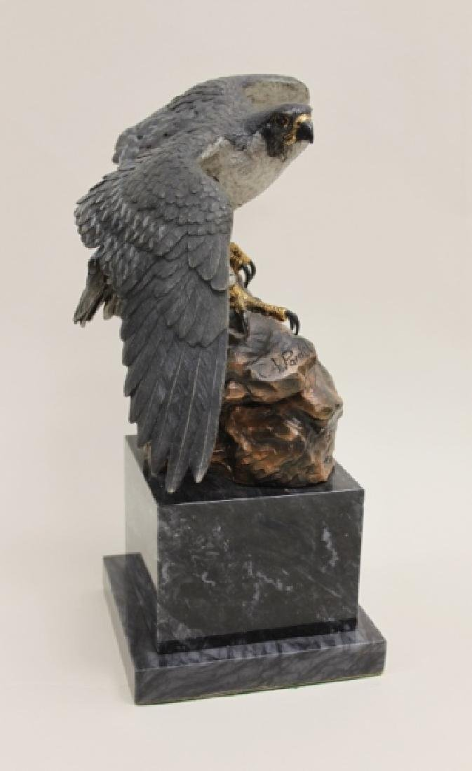 "C.A. Pardell ""Legends"" Peregrine Falcon Sculpture - 4"