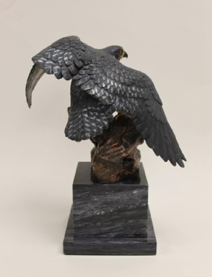 "C.A. Pardell ""Legends"" Peregrine Falcon Sculpture - 5"
