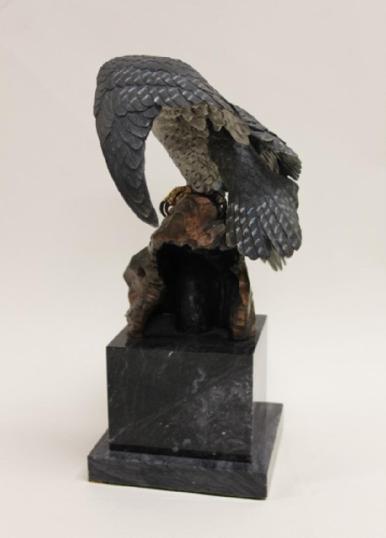 "C.A. Pardell ""Legends"" Peregrine Falcon Sculpture - 6"