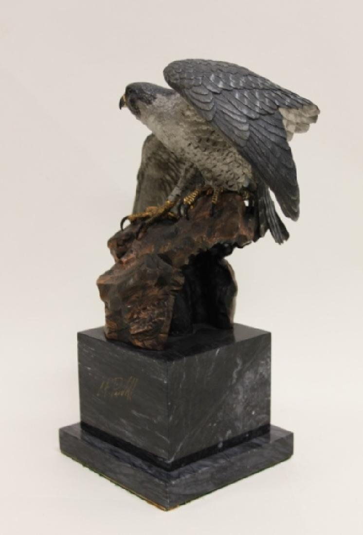 "C.A. Pardell ""Legends"" Peregrine Falcon Sculpture - 7"