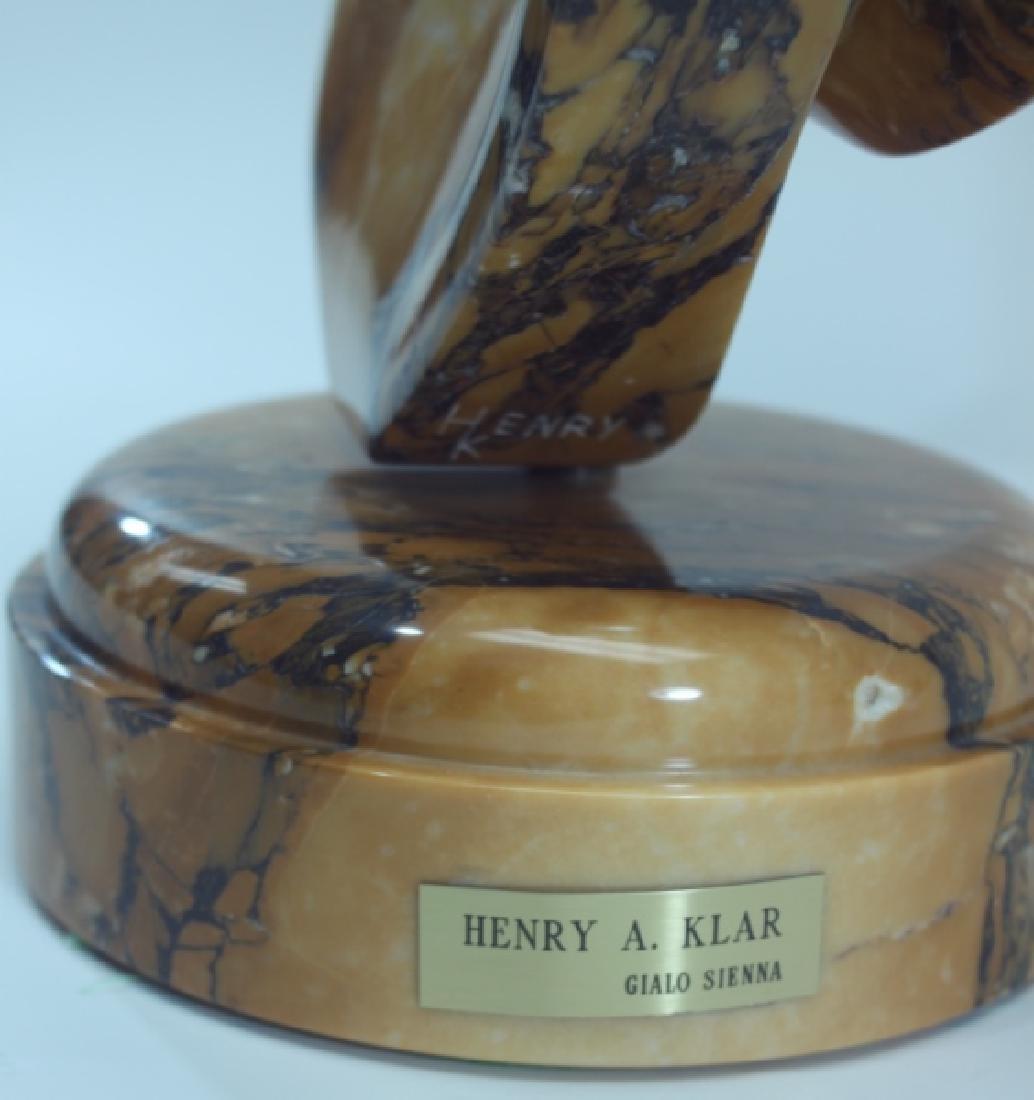 Henry Klar, American Modernist Marble Sculpture - 10