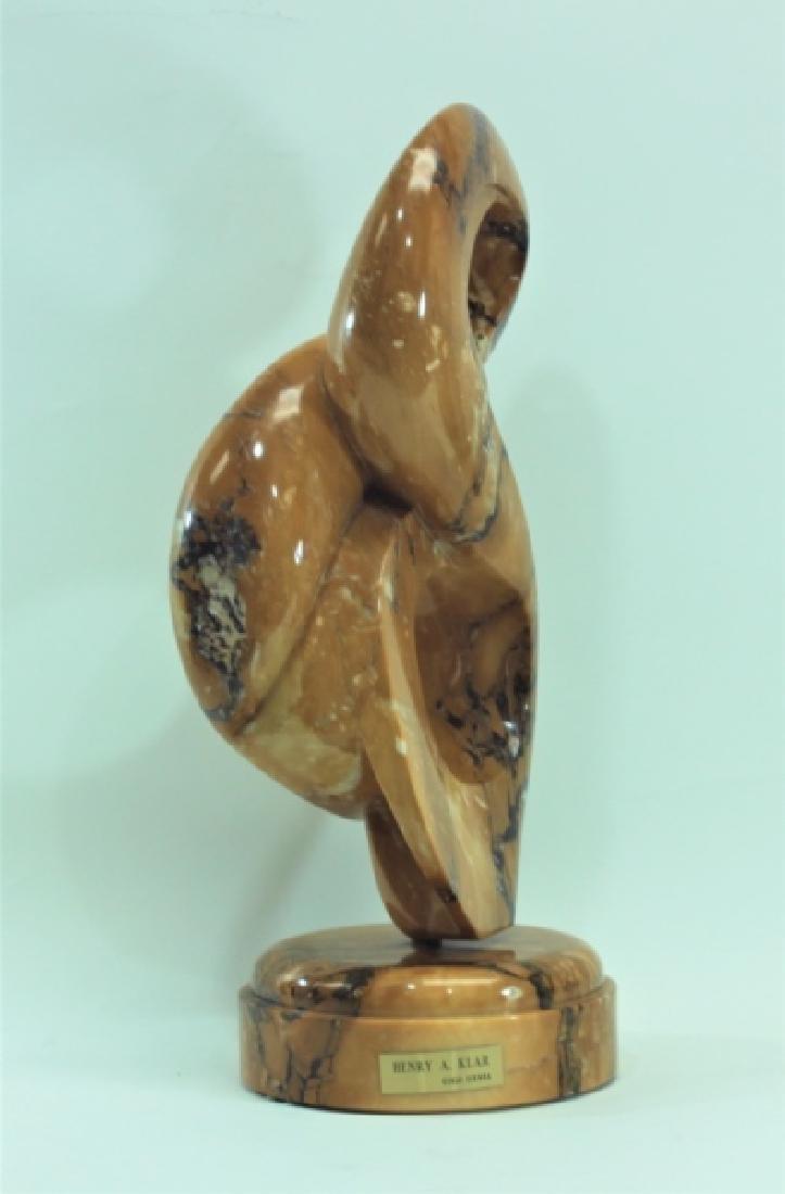 Henry Klar, American Modernist Marble Sculpture - 7