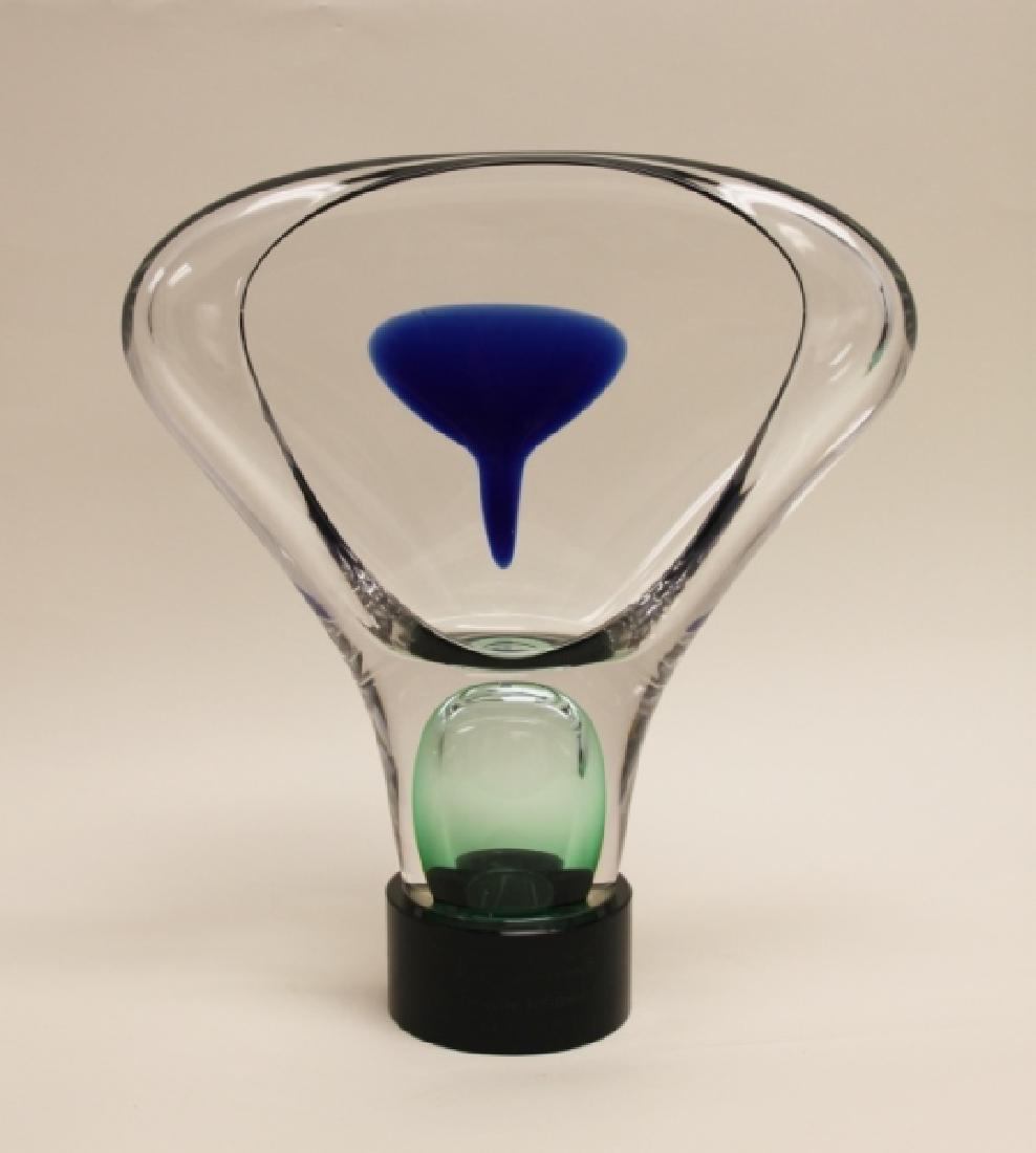 Adam Jablowsky Poland Modern Art Glass Sculpture