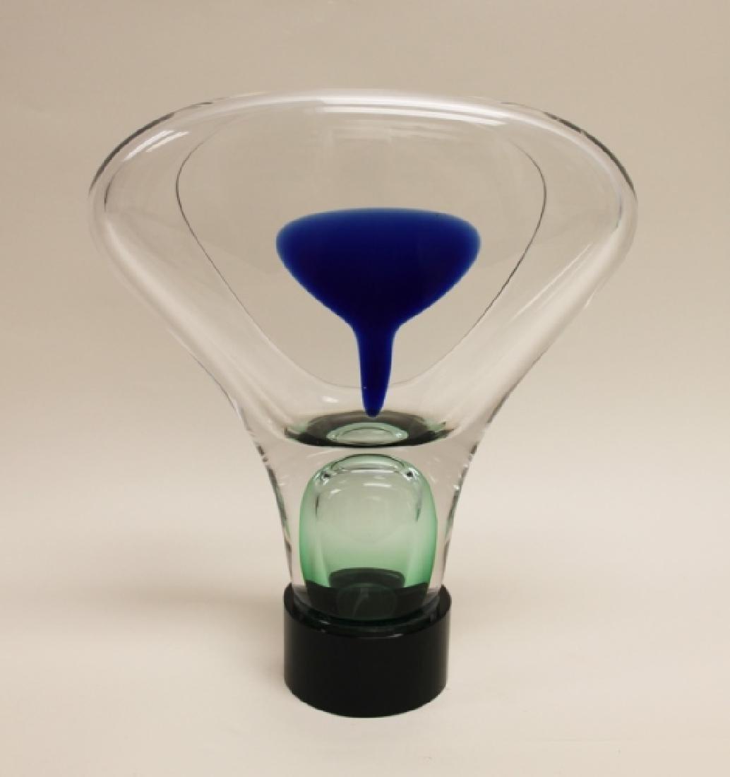 Adam Jablowsky Poland Modern Art Glass Sculpture - 7