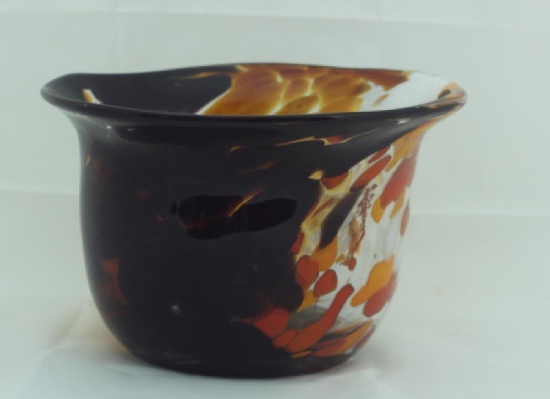 Magnor Handlaget Krystall Norwegian Art Glass Vase