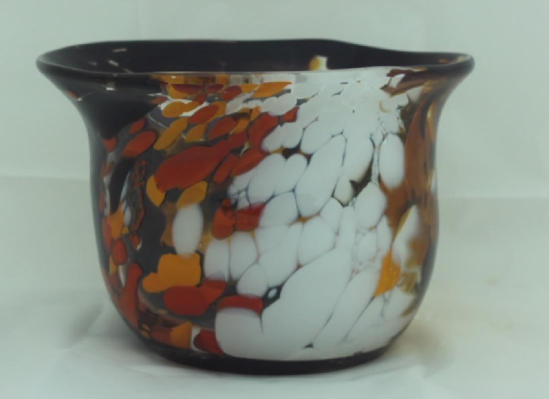 Magnor Handlaget Krystall Norwegian Art Glass Vase - 3