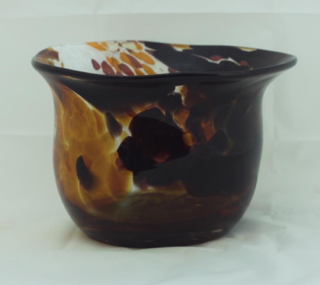 Magnor Handlaget Krystall Norwegian Art Glass Vase - 4