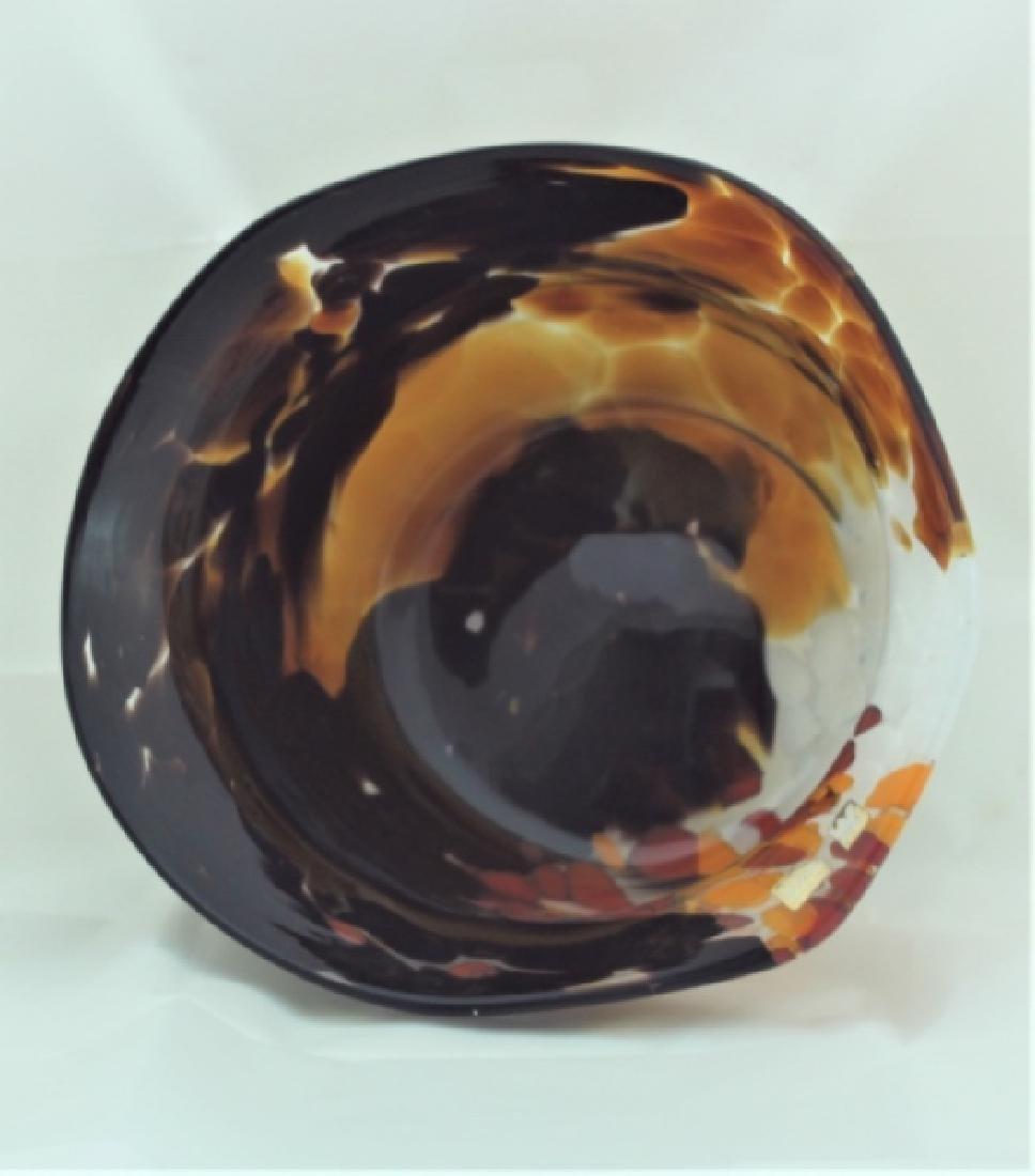 Magnor Handlaget Krystall Norwegian Art Glass Vase - 5