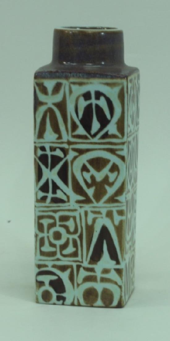 Nils Thorsson for Royal Copenhagen Faience Vase - 2