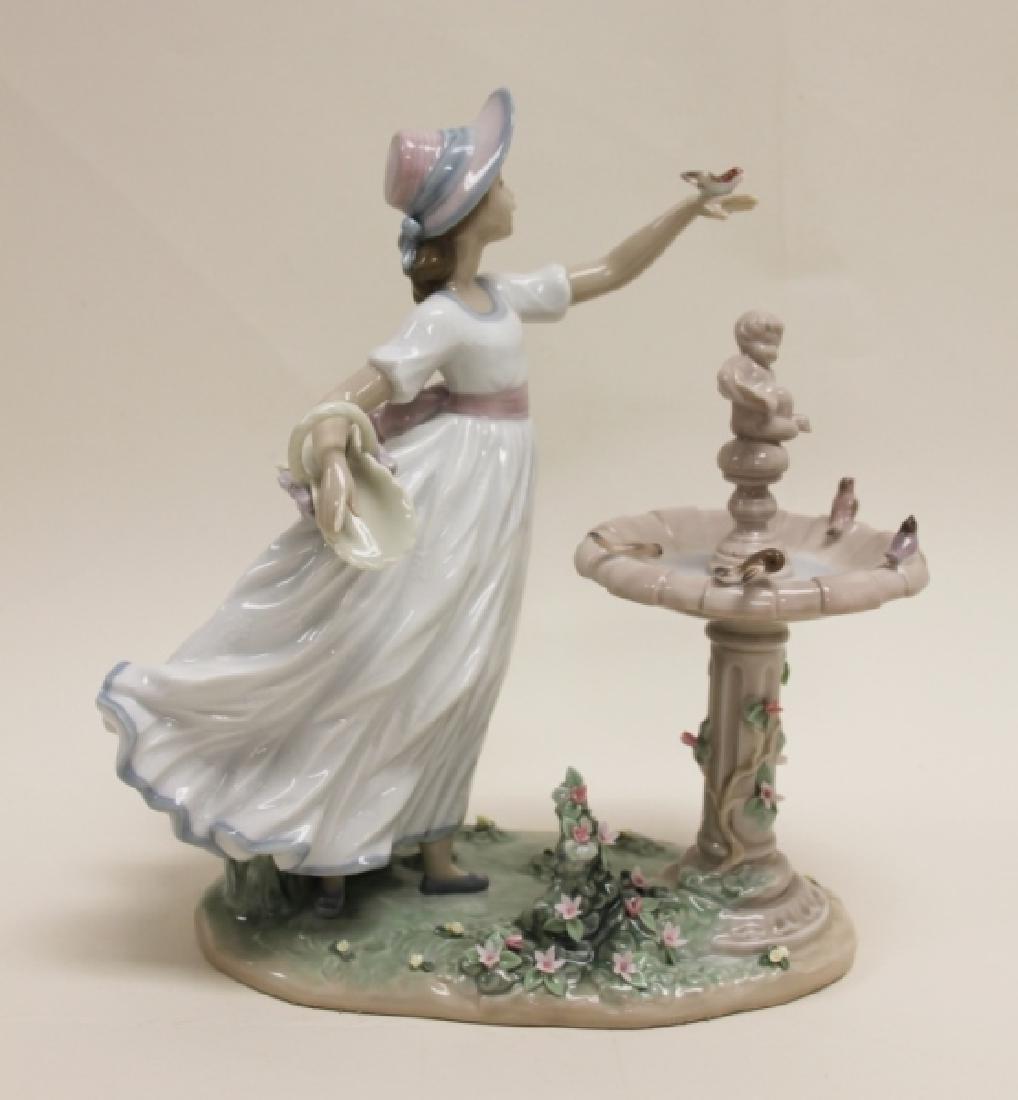 "Lladro Porcelain Sculpture ""Spring Joy"" #6106"