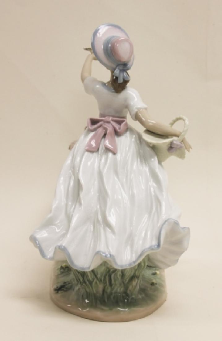 "Lladro Porcelain Sculpture ""Spring Joy"" #6106 - 2"