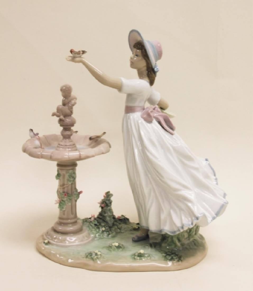 "Lladro Porcelain Sculpture ""Spring Joy"" #6106 - 3"