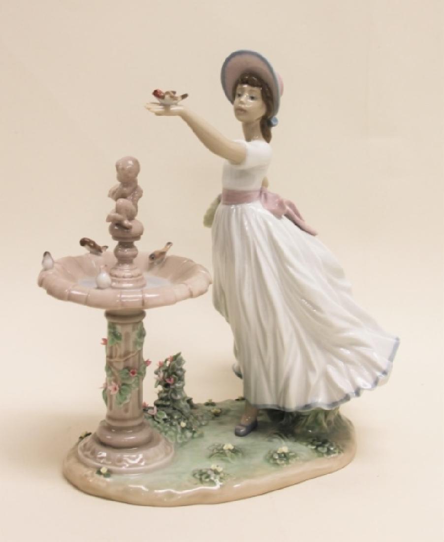 "Lladro Porcelain Sculpture ""Spring Joy"" #6106 - 4"