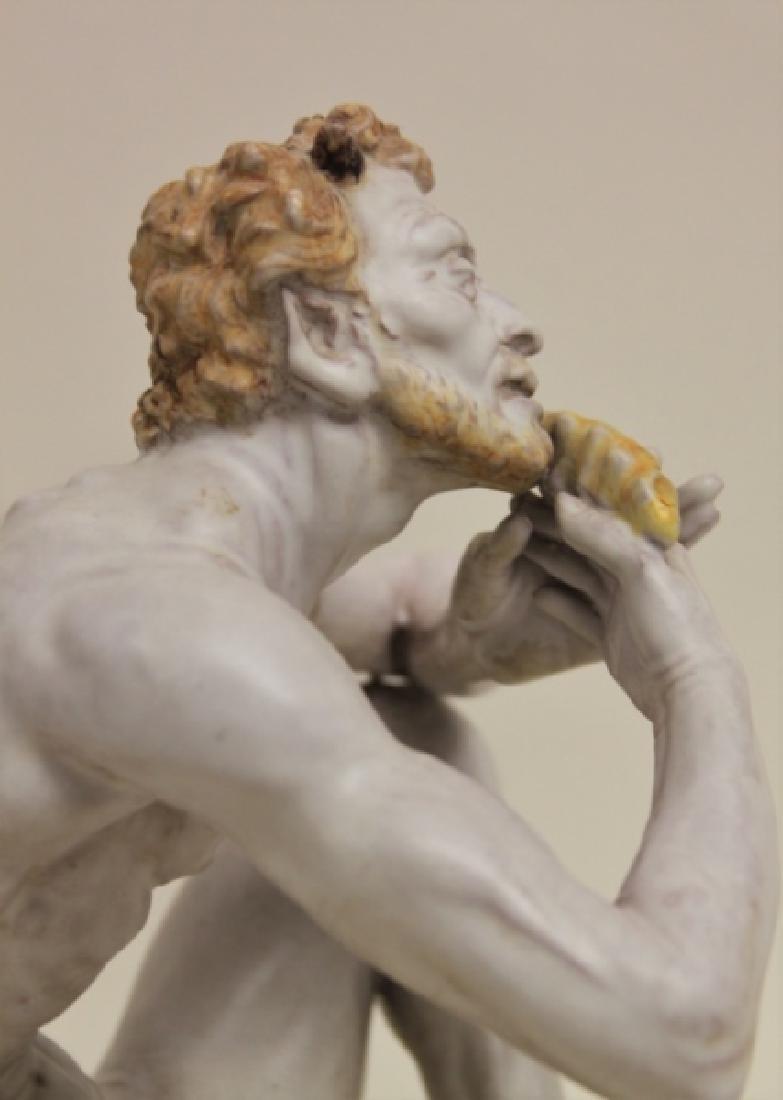 "Prof Eugenio Pattarino Terracotta Sculpture ""Pan"" - 3"