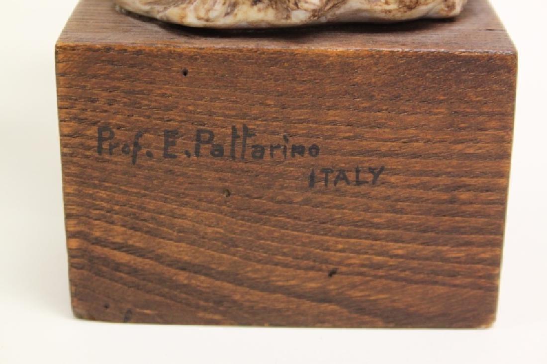 "Prof Eugenio Pattarino Terracotta Sculpture ""Pan"" - 8"