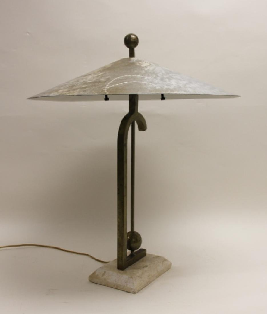Maitland Smith Burnished AL, Brass & Coral Lamp - 3