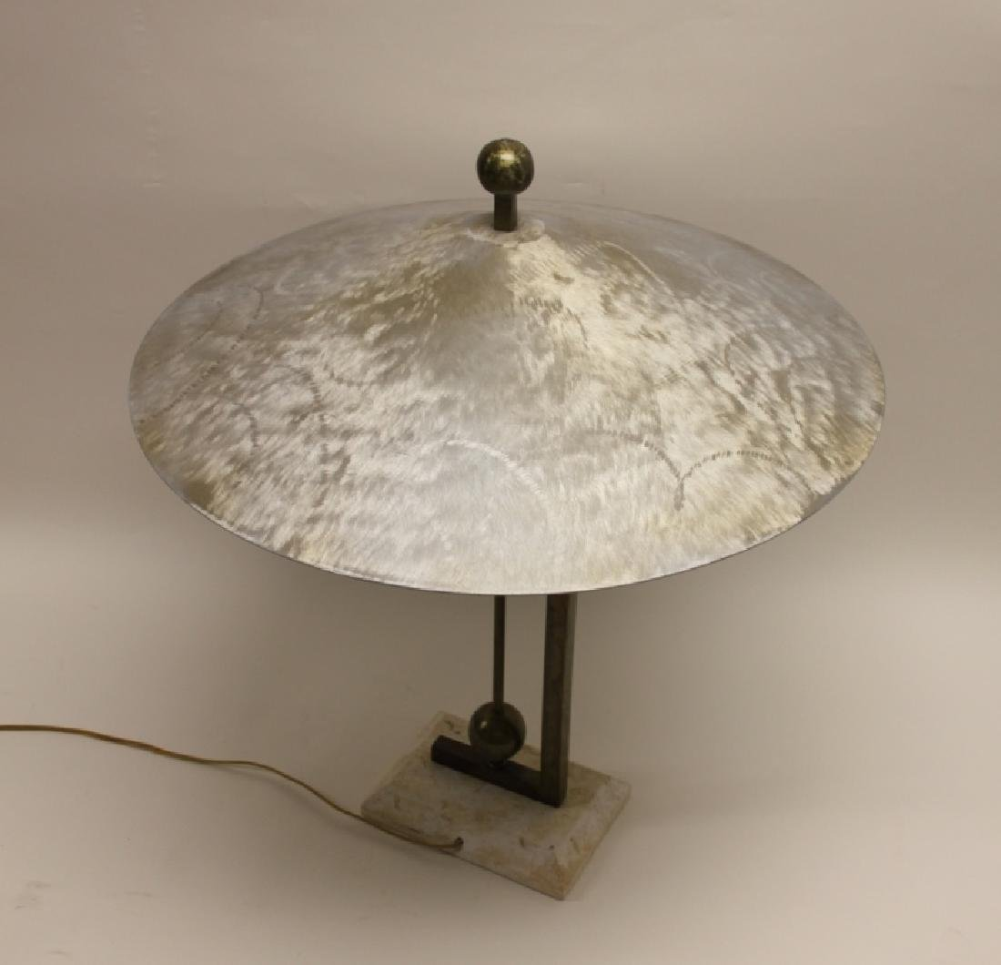 Maitland Smith Burnished AL, Brass & Coral Lamp - 8