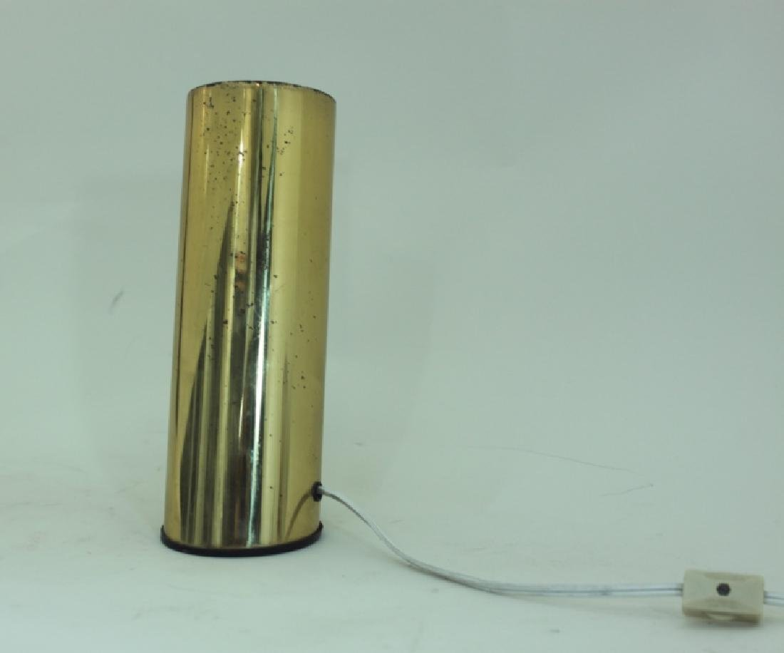 1970s Slanted Brass Tube Wall Sconce or Spot Light - 2